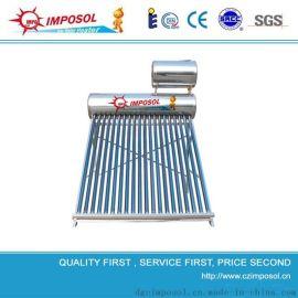 家用高品质紫金管58*1800MM真空管太阳能热水器,全自动上水太阳能热水器水箱