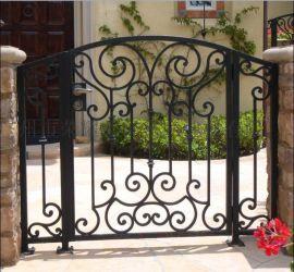 别墅门 庭院大门  中式铁门  欧式新款铁门