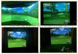 高尔夫室内模拟器练习场球场别墅俱乐部专用高尔夫设备原装进口