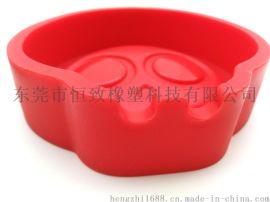 供应定制硅胶烟灰缸 创意骷髅头烟灰缸 居家烟灰缸
