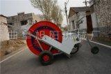廠家直銷旭陽卷盤式噴灌機小麥節水噴灌機