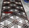 定制304不锈钢花格镂空屏风 酒店KTV客厅中式屏风隔断 玄关隔断