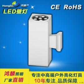 单头户外壁灯_大功率LED壁灯_16W单向户外壁灯