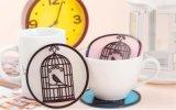 鸟笼硅胶杯垫