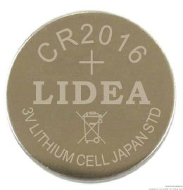 防盗遥控报警器用纽扣电池CR2016
