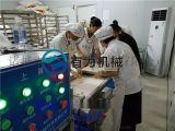 雪花鸡柳条裹糠机、裹糠均匀产量高、免费上门安装