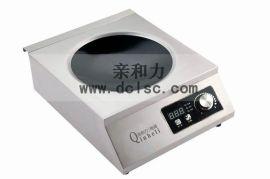 北京电磁台式凹面小炒灶价格 3500w电磁炉炒菜炉