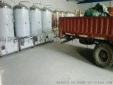 精酿啤酒设备银色装车发货