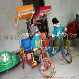 卡通动物机器人拉车/蹬车 儿童电动玩具厂家电话