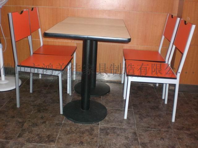 钢木餐桌椅定制,广东鸿美佳厂家批发价格销售钢木餐桌椅