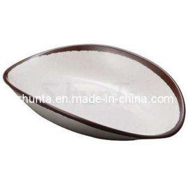 shunta密胺創意造型千山日式料理盤A95