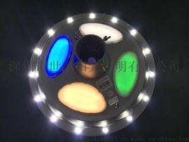 太阳能景观灯15W太阳能一体化庭院灯草坪灯广场照明led圆形UFO灯