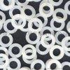 白色四氟密封件O型T型U型凸形异型垫片轴套垫圈