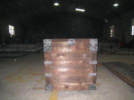 铁艺木箱 铁艺工艺品定制