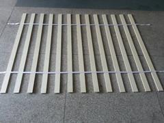 织带排骨架床