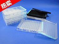 WHB TC处理标准透明6孔、12孔、24孔、96孔细胞培养板,灭菌