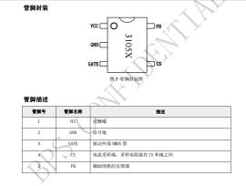 BP3105 高精度原边反馈 LED 恒流驱动芯片