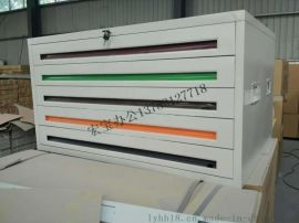宏宝钢制底图柜 工程图纸储存柜 带锁铁皮底图柜