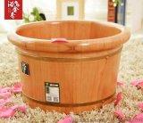 橡木泡脚桶 洗脚木盆 足浴桶