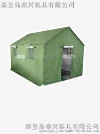4x3m军绿框架棉帐篷(6-8人)