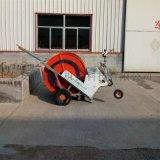霖丰50-180型绞盘式喷灌机 现代化农业灌溉机 大田自动浇地机