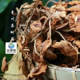 山饕情STQ-C001青川野生茶树菇 无熏硫磺食用菌干货 500克散装