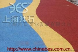 广西南宁彩色透水混凝土/生态型透水混凝土/施工