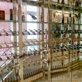 不鏽鋼酒架酒櫃金屬酒水架展示架廠家定制