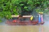 江南水乡观光游船 7米仿古婚纱摄影拍照木船价格