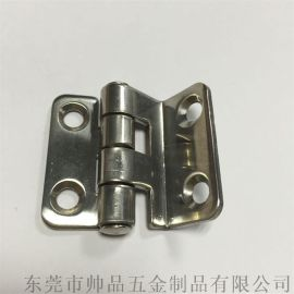 不鏽鋼異形鉸鏈折彎門鉸鏈機械儀器折彎合頁38*38mm廠家直銷