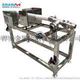 東莞善安食品金屬探測儀醬料用泵壓式異物檢測機
