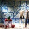 厦门玥诚仿真玻璃钢樱桃橱窗装饰用品 橱窗展示道具制作