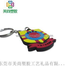 PVC手机绳挂件 塑胶橡胶卡通手机挂饰