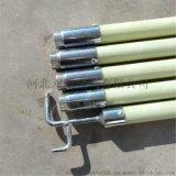 双冠电气生产JYG-10kv3节4米电工高压拉闸杆