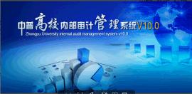 中普高校内部审计管理系统V10.0