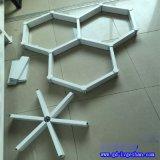 内蒙古三角铝格栅 三角形格栅铝天花 三角形铝格栅品牌