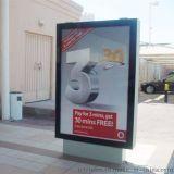 不锈钢阅报栏,滚动灯箱指路牌,公交站台,候车亭,换画灯箱