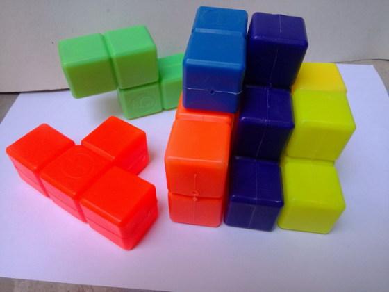 俄罗斯方块立体拼图积木