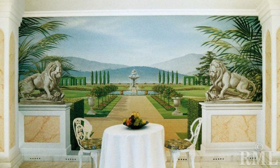 酒店餐厅墙体壁画图片,酒店餐厅墙体壁画高清图片 郑州迦南墙体彩绘艺术壁画工程,中国制造网