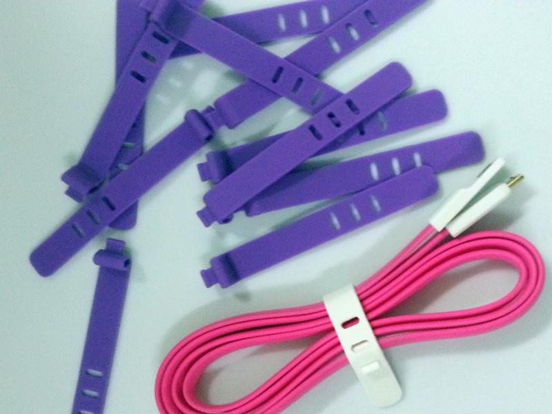 数据线硅胶绑线圈