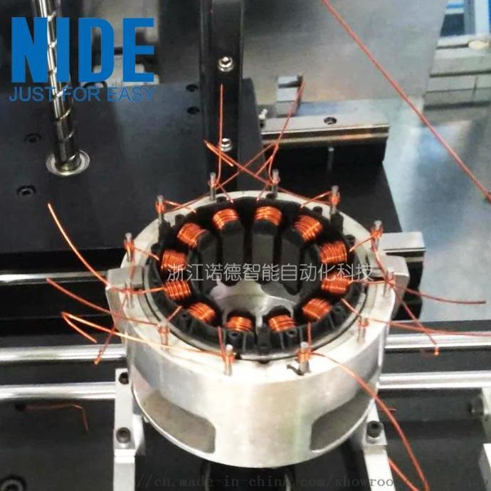 诺德全自动无刷电机绕线机马达定子线圈内绕设备805420225