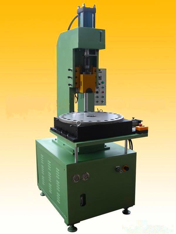 高精密数控数显压装分度盘成型液压机台式多工位旋转式压力机