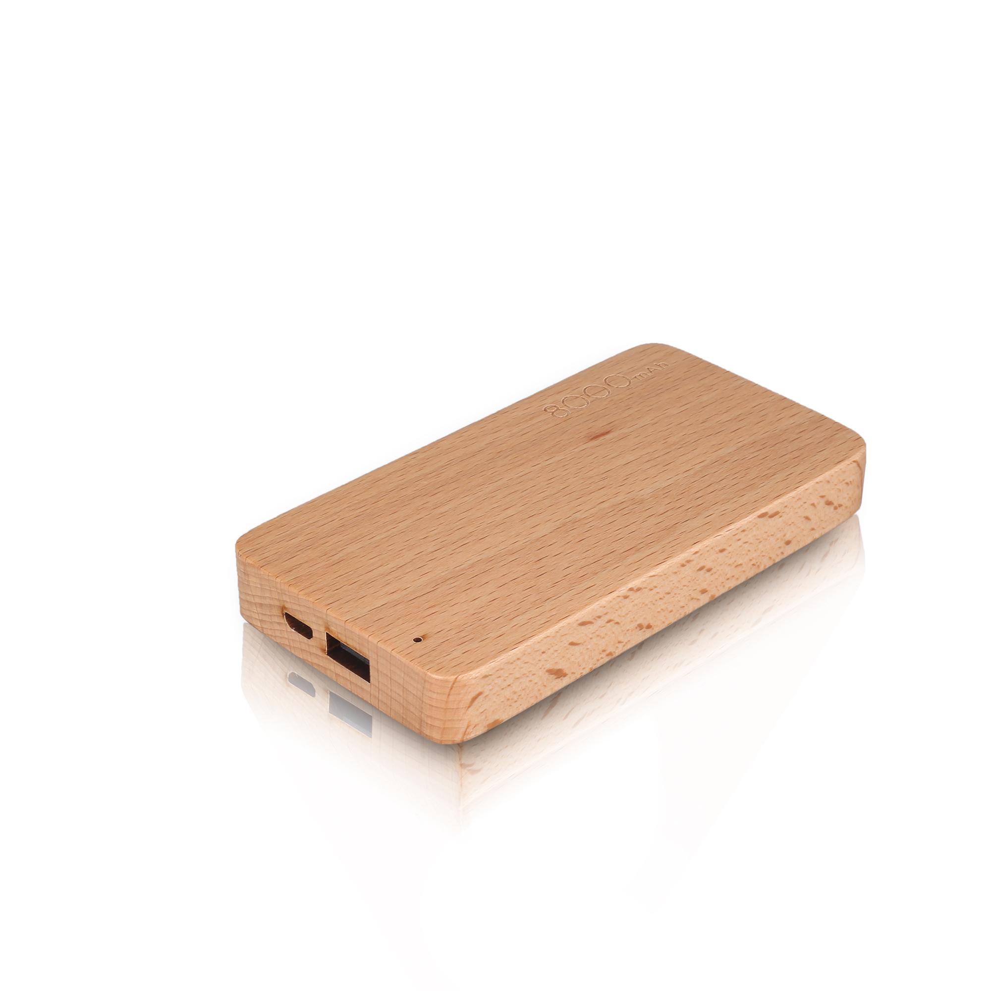 北京会议礼品_北京会议礼品 木质充电宝 8000毫安 100%纯木打造而成