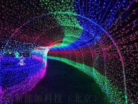 光波动感隧道/时光隧道灯光拱门/时光隧道led户外776964785图片