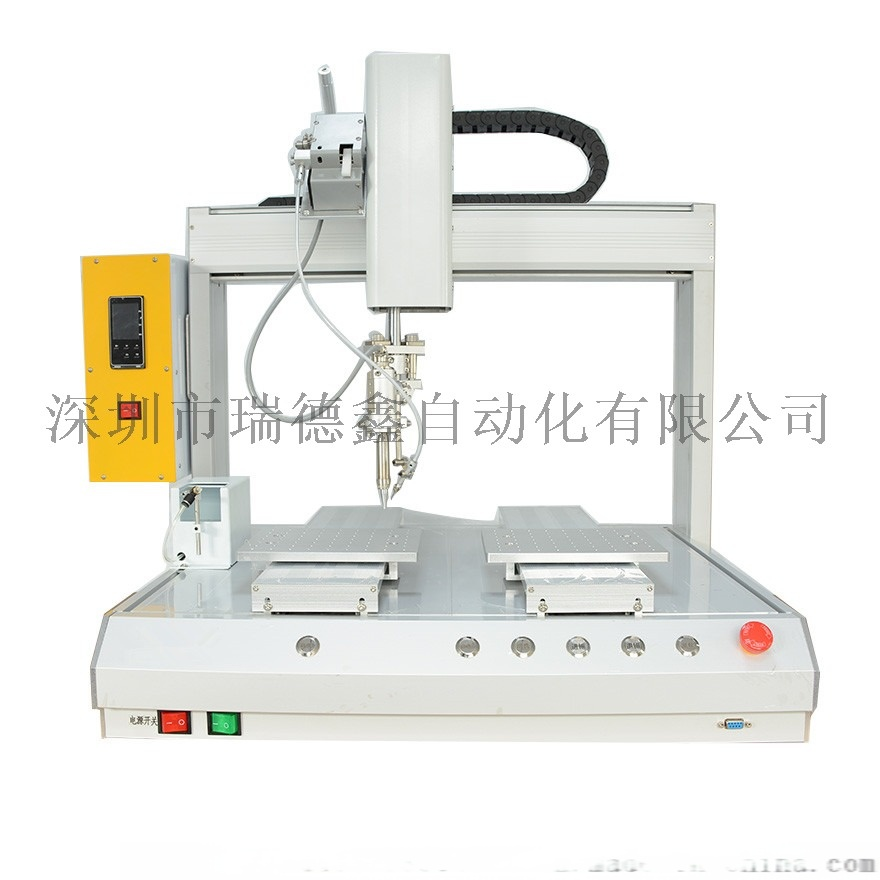深圳瑞德鑫自动化:全自动焊锡机自动显示屏拖焊视频