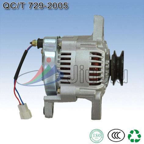 电流表检测交流发电机转子两滑环之间电阻值是多少12V与24V 是不是图片