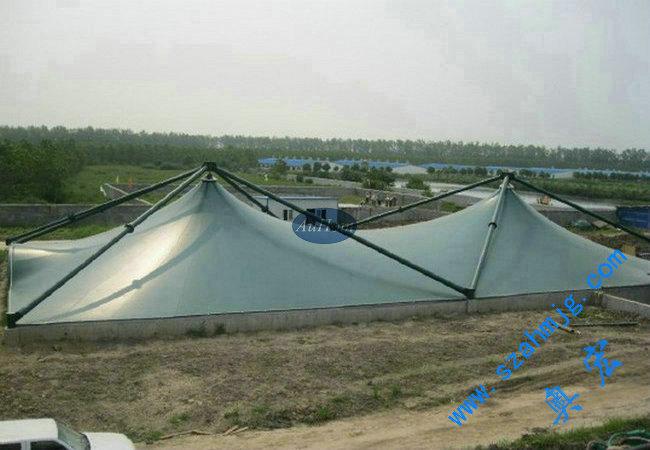 [供应]初沉池反吊膜结构|污水池防腐施工公司|请找奥宏 商标:奥宏