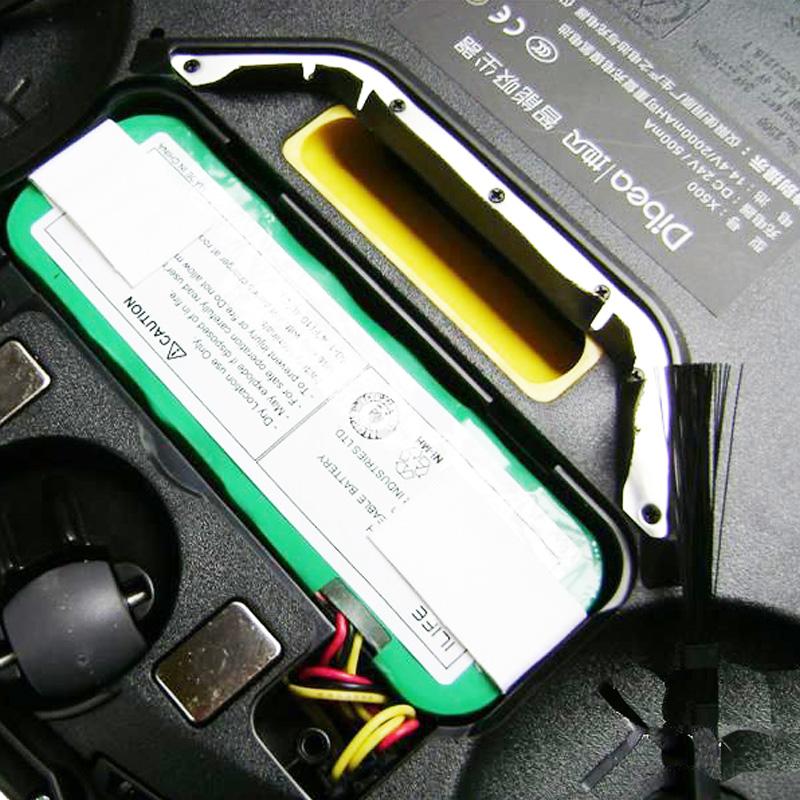 Dibea地贝X500扫地机器人别墅风水客厅拼花电池图片