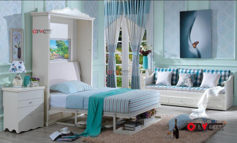 隐形床定制多功能壁床折叠床   类型分为直翻壁床,侧翻壁床,双层壁床