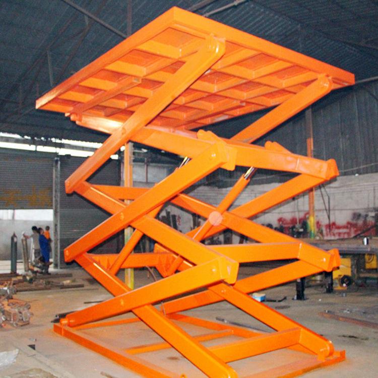 液压升降机,剪叉式升降平台,佛山简易货梯厂家图片